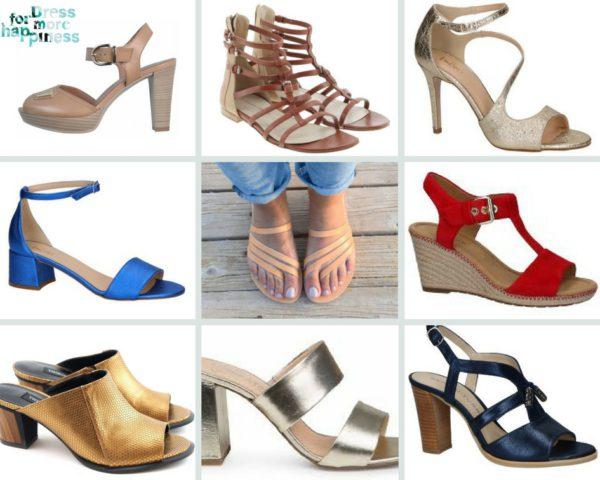 Welke sandaal past het best bij jou?
