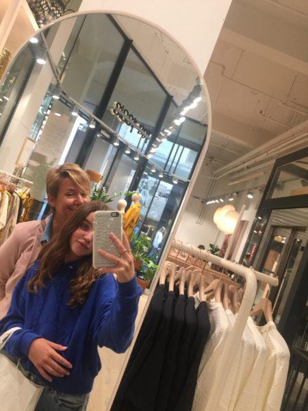 Shoppen met dochter